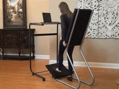 stand up desk lean chair leanchair is the standing desk that lets you kick back