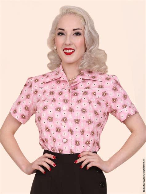 Jojo Blouse jojo blouse pink spiral from vivien of holloway