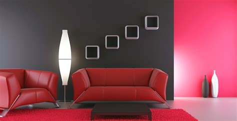 Paints For Home Interiors by Red Colour Shades Ideas For Interior Wall Paint Berger Paints