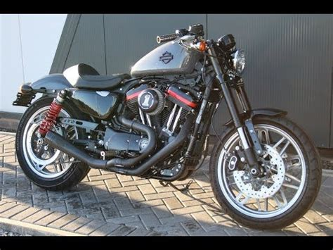 Rsd Grey harley davidson sportster roadster gunship grey custom