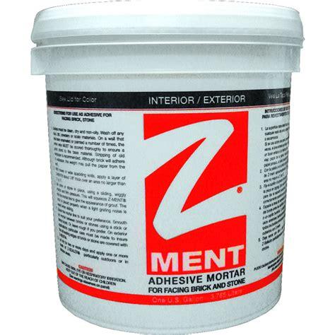 shop z brick 15 lbs white premixed brick veneer mortar at