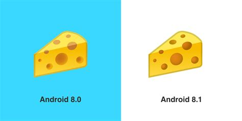 cheese emoji fixes burger emoji