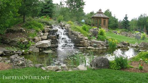 large backyard ponds 17 beautiful backyard pond ideas for all budgets empress of dirt