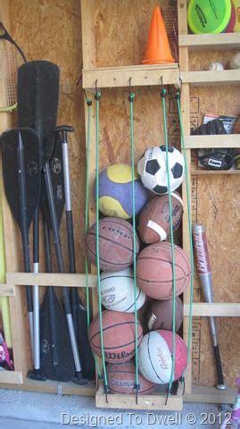 Garage Storage Ideas Balls Best 25 Storage Ideas On Garage Diy