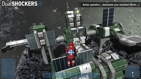 House Design Software Test by Get Eco Friendly In Space Engineers With New Solar Panels