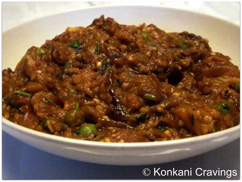 konkani cravings baingan bharta eggplant curry