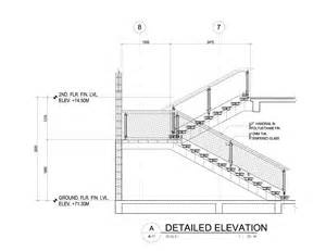 Industrial Handrail Brackets A Modern Cantilever Staircase In Steel And Wood Eugene