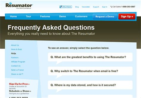 website layout questions ensuring an effective user experience on your faq page