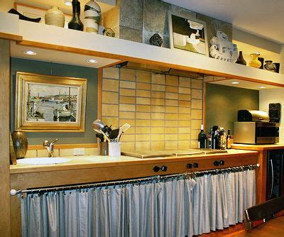 Kitchen Cabinet Curtains by Kitchen Cabinets With Curtains Anybody Remodeling