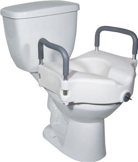 heavy duty elevated toilet seat drive rtl12027ra elevated raised toilet seat with