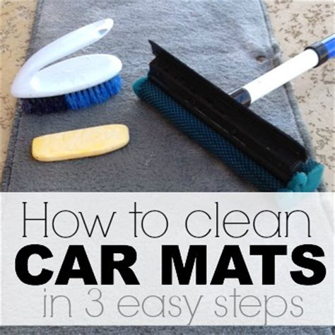How To Wash Car Mats by How To Get Rid Of Mildew Smell With Just 1 Ingredient