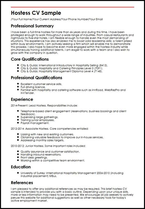 sle of a well written cv myperfectcv phone number 28 images fx trader cv sle