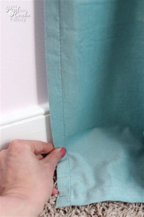 easy way to hem curtains how to hem curtains in a snap