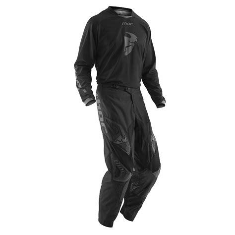black motocross jersey thor mx new 2016 phase blackout jersey pants dirt bike