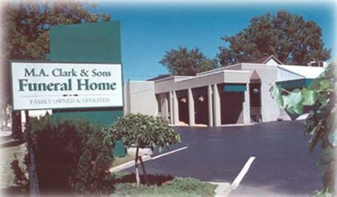 m a clark sons funeral home ltd thespec