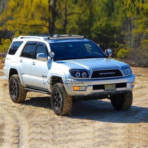 2004 Toyota 4runner Headlights 03 05 Toyota 4runner Dual Halo Led Projector Headlights W
