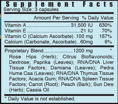Acx Vitamin Detox by Acp Vitamin Acp Systemic Formulas
