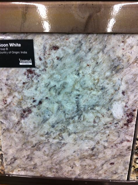 granite white moon home depot b kitchen