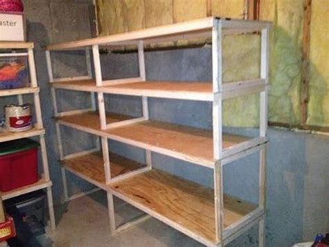 easy cheap storage shelves