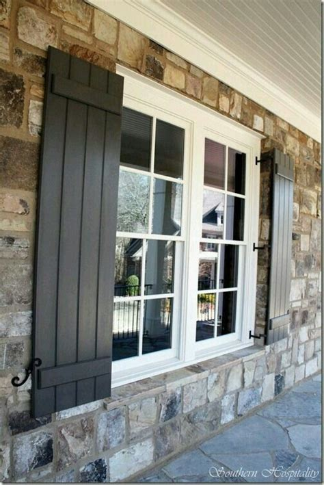 Black Exterior Windows Ideas 17 Best Ideas About Black Shutters On Outdoor Shutters Outdoor House Colors And