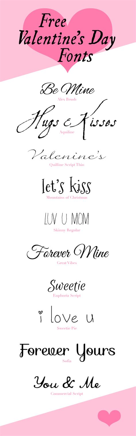 valentines fonts 10 free s day fonts fab n free