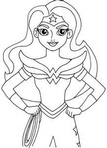 dibujos dc super hero girls colorear imprimir gratis