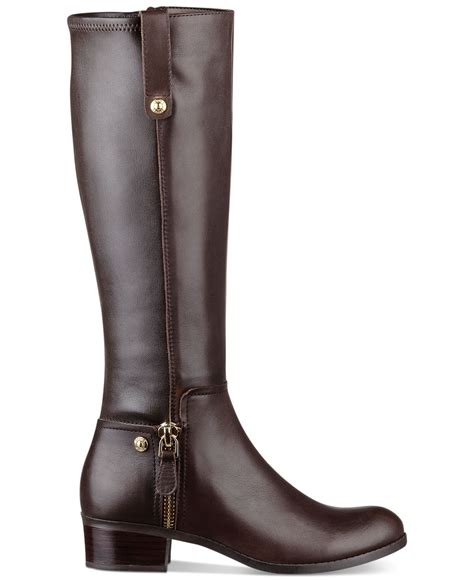 guess tafn boots in brown lyst