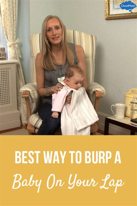 best way to best way to burp a baby on your cloudmom