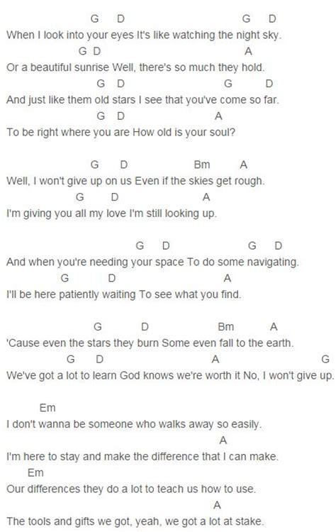 ukulele tutorial i won t give up jason mraz i won t give up chords capo 2 jason mraz