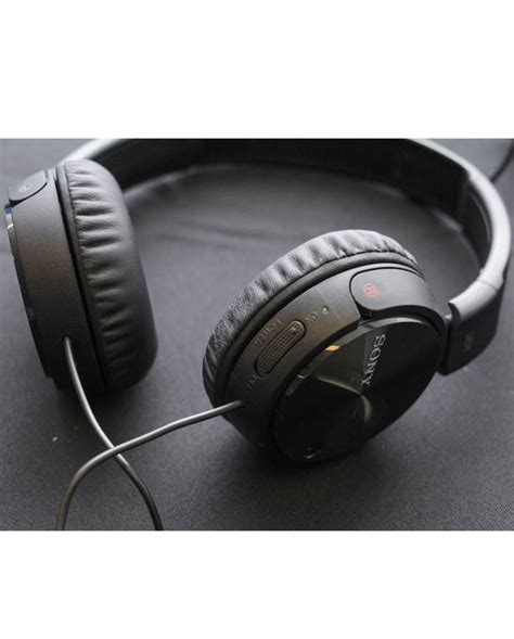 Headphone Sony Mdr Zx110nc Original sony mdr zx110nc noise cancelling headphone black best price