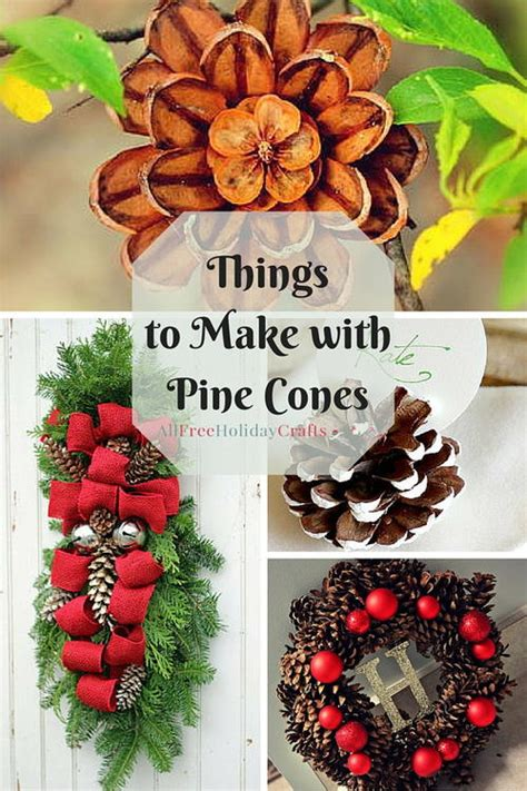 pine cone crafts 14 things to make with pine cones