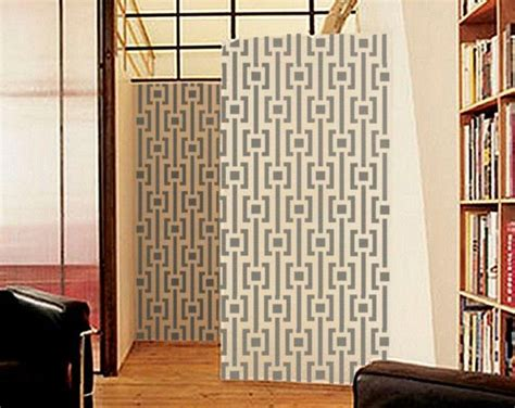 large wall stencils modern geometric wall stencil mod pattern large reusable