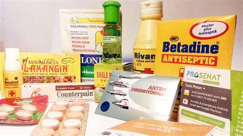 persiapan obat obatan untuk lebaran sehat dan nyaman