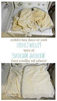 how to wash pillows in the washing machine practically