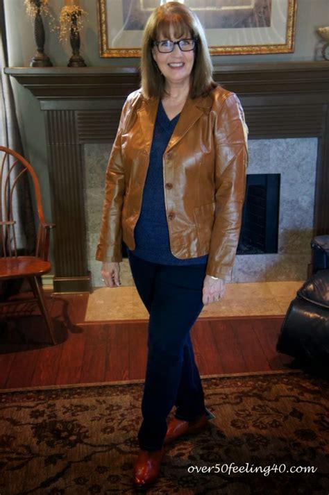 pinterest fashion over 50 fall 2014 chadwicks fall forecast leather blazers and fashion flash