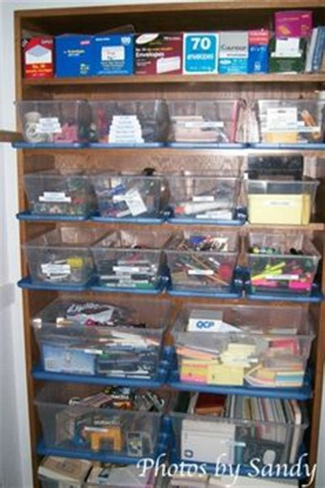 supply closet organization ideas office supply closet solutions bins for computer