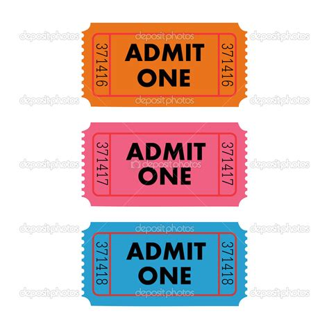 ticket admit one template printable promissory note free