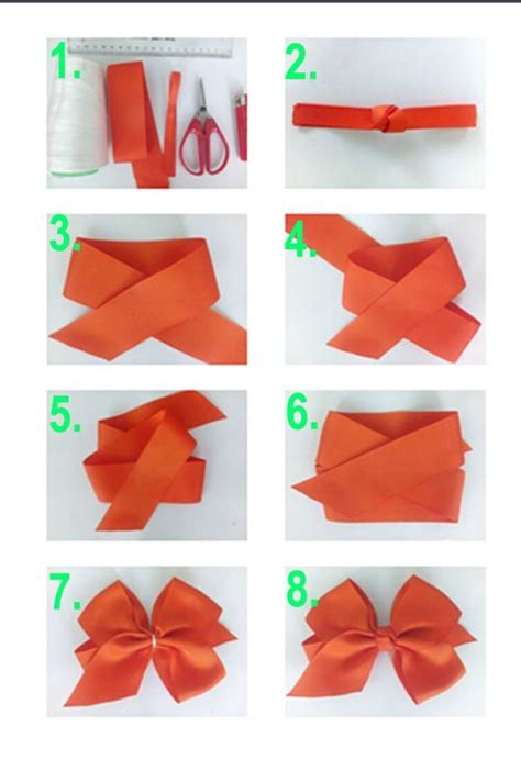 How To Make A Bow With Paper Ribbon - 15 best ideas about make a bow on how to make
