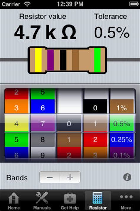 resistor color code calculator visual basic resistor color code calculator visual basic 28 images calculators and informations free