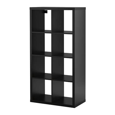 Expedit Shelf Unit by Kallax Shelving Unit Black Brown