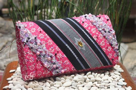 Clutch Tenun Gold 8 best batik bags made in indonesia images on