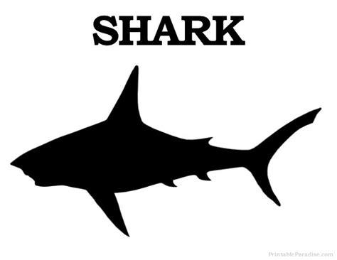 printable shark images printable shark silhouette print free shark silhouette