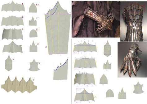 gauntlet template lord of the rings witch king gauntlet templates diego