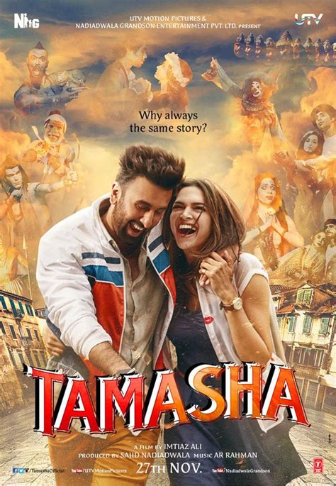indian film the promise story tamasha 2015 movie full star cast crew story release