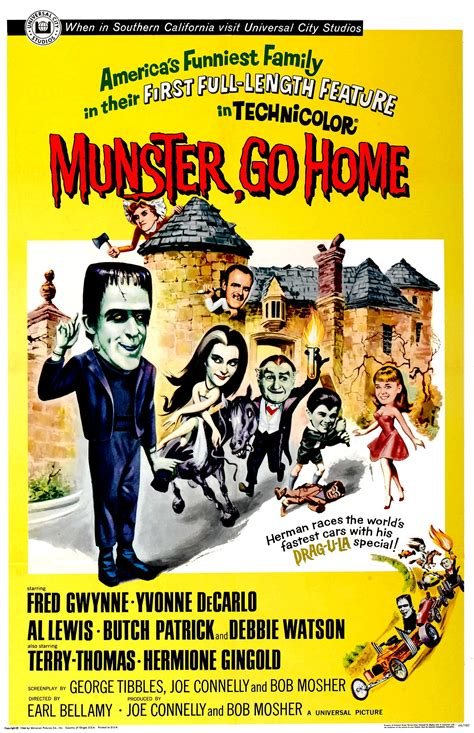 munster go home theatrical poster sitcoms