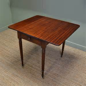 small dining table with leaf fine regency gillows small drop leaf mahogany dining table
