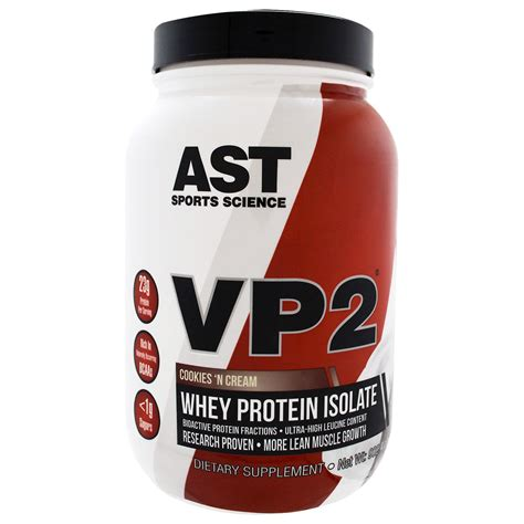 Vp2 Whey Protein Isolate ast sports science vp2 whey protein isolate cookies n