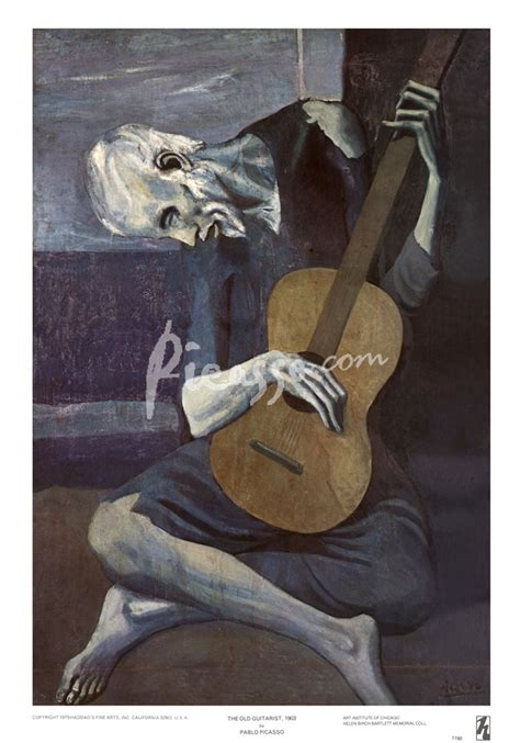 picasso paintings to print guitarist print by pablo picasso at picasso