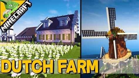 Modern Colonial House Plans Minecraft Dutch Farm W Windmill Keralis Inspiration