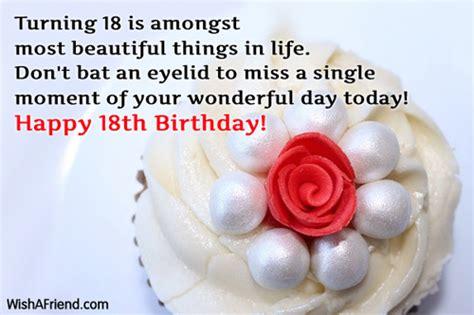 Happy 18 Birthday Wishes Happy 18 Birthday Quotes Quotesgram